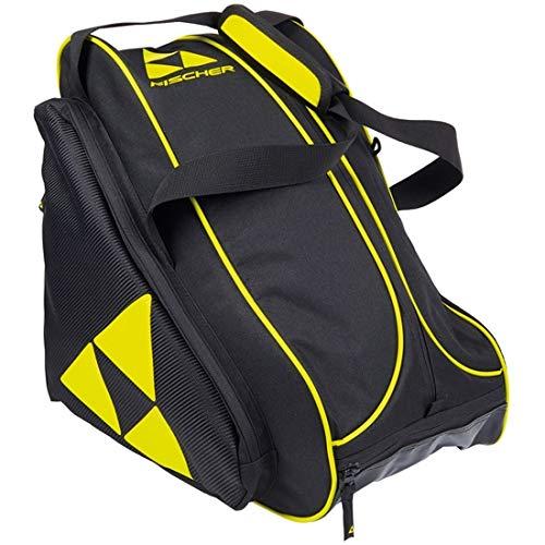 Fischer Unisex– Erwachsene Skibootbag Alpine Race, schwarz/gelb, OneSize