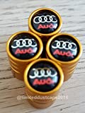 Speed Demon AUDI GOLD DELUXE AUTO REIFEN DUST VENTILKAPPE EXKLUSIV FÜR US-A1 A3 A4 A5 A6 A7 A8 Q3 Q5 Q7 R8 TT RS E-TRON S LINE RS4 RS5 RS6