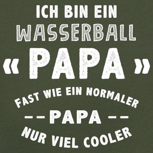 Ich bin ein Wasserball Papa - Herren T-Shirt - 13 Farben Olivgrün