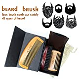 XBDOT Barbe Toilettage Kit pour Hommes Moustache Taille Outils Moustache Outil De...
