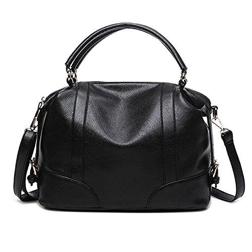 Mefly La Nuova Moda Borsa Per Portatile Claret black