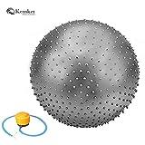 Best bola del ejercicio - Bola del ejercicio Kemket masaje Yoga, 65 cm/85 Review