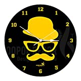 Hoopoe Decor mustache man Yellow Trendy ...