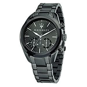 Maserati Reloj Cronógrafo de Cuarzo para Hombre con Correa de Acero Inoxidable – R8873612002 de MASERATI
