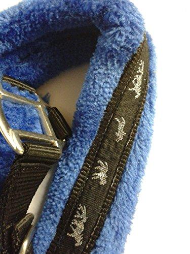 Headcollar Sparkly Furry Fluffy Pretty Horse Pony Head collar (Small Pony, Brown/Biege) 6