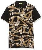 VERSACE JEANS COUTURE Men\s Man T-Shirt Polo, Black (Nero 899), Medium (Size: 48.0)