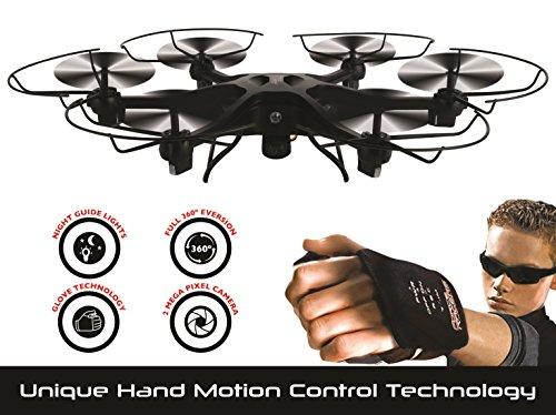 Force Flyer Adventurer Drohne mit Motion Handschuh und 2MP Kamera