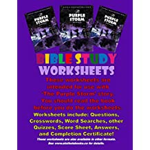 The Purple Storm: Bible Study Worksheets: Aletheia Books - Bible Study Worksheets