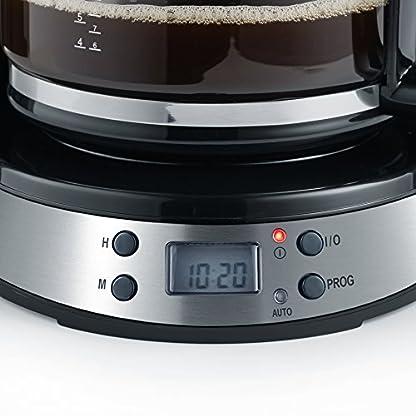 SEVERIN-KA-4192-Kaffeemaschine-edelstahl-gebrstetschwarz-Zertifiziert-und-Generalberholt