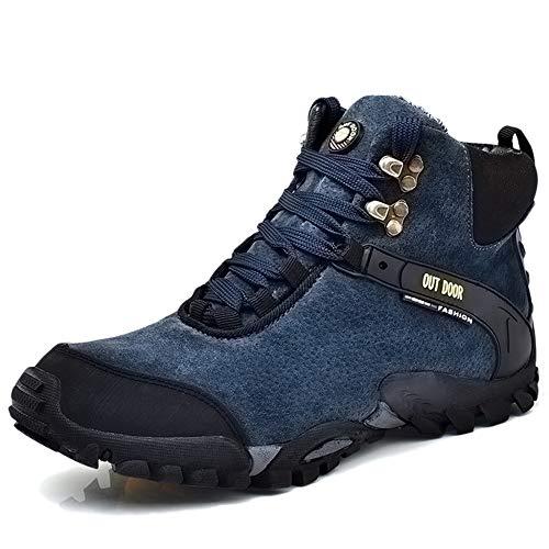 e7e6298234 Yra Zapatos De Trekking Al Aire Libre para Los Hombres Zapatos De Los Altos  del Alza Botas De Cordones Zapatillas De Deporte par