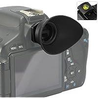 First2savvv DSLR Conchiglia Oculare Mirino Ottico per per Canon EOS 1300D 100D 1200D 1100D 1000D 550D 500D 450D DSLR Camera + gradienter - QJQ-TX-P-EF-BP01G15