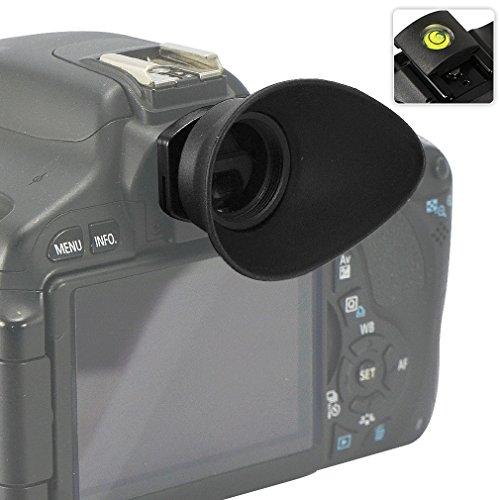 First2savvv DSLR reemplazo tapa del ocular y el ocular para para Canon EOS 100D 1200D 1100D 1000D 550D 500D 450D DSLR Camera + gradienter - - QJQ-TX-P-EF-BP01G15