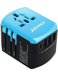 JYDMIX Universal Alimentatore Universale USB Adattatore da Viaggio con 3 Porte USB e Tipo-C Caricatore
