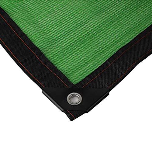 Sonnenschutznetz, 80{76ff02a70ed58aafab81a3226ecb71cb2510d12f30cb84d1f61a134227b742b3} Green Shade Cloth Bandkante mit Ösen - for Pflanze/Patio/Garten/Gewächshaus/Pergola (Size : 3m x 6m)