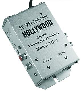 Profi-Line Phono-Verstärker Hollywood 'TC-4si', Silber, Stereo, Anschl. Cinch o.5-Pol DIN (B000YJ0DLI) | Amazon price tracker / tracking, Amazon price history charts, Amazon price watches, Amazon price drop alerts