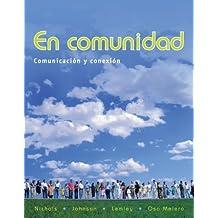 En comunidad: Comunicación y conexión by Pennie Nichols (2008-10-31)