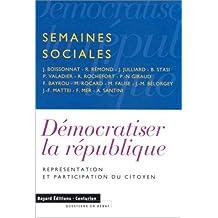 Démocratiser la République : Représentation et participation du citoyen