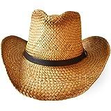 Cowboy Hut Strohhut mit Hutband
