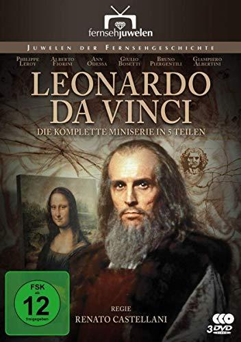 Leonardo da Vinci - Der komplette 5-Teiler (Fernsehjuwelen) [3 DVDs]