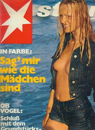 STERN Zeitschrift Illustrierte Magazin Heft-Nr. 23 vom 20. Mai 1971 Sag mir wie die Mädchen sind; OB Vogel: Schluß mit dem Grundstückswucher!
