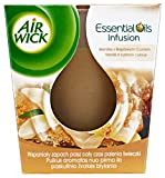 Airwick Air wick Duftkerze Essential Oil Vanille&brauner Zucker, 6er pack (6 X 105 g.)