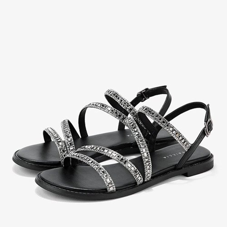 LGK & FA Sommer Damen Sandalen Flache Schuhe Schuhe Kinder Sommer Sommer Schüler mit Low Wort Schnalle Schuhe