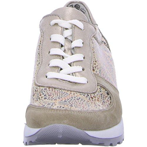 Waldläufer  H64001 406 766, Chaussures de ville à lacets pour femme Cappuccino