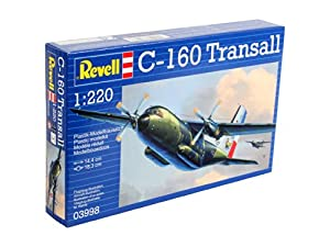 Revell C-160 Transall 1:220 Assembly kit Fixed-wing aircraft - maquetas de aeronaves (1:220, Assembly kit, Fixed-wing aircraft, C-160 Transall, Military aircraft, De plástico)