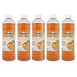 5 x 1 Liter Premium Orangenreiniger Konzentrat, Orangenreiniger entfernt sogar hartnäckigste Verschmutzungen.