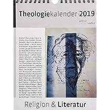 Theologie-Kalender 2019: Religion und Literatur. Wochenkalender