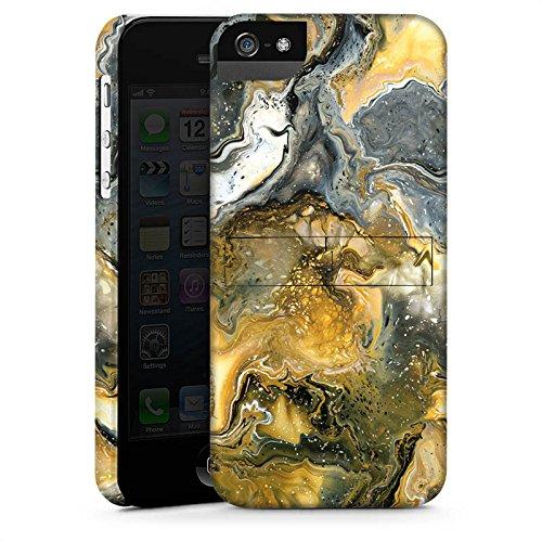 Apple iPhone 4 Housse Étui Silicone Coque Protection Marbre Style CasStandup blanc