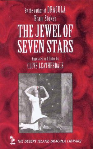 Book cover for The Jewel of Seven Stars