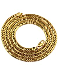AVN JEWELLERS 22CT PURE GOLD AND ROHDIUM COATED CHAIN AT SPECIAL PRICE