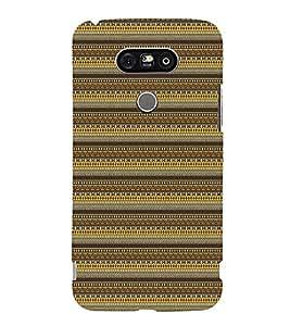 Mandela Tribal Pattern 3D Hard Polycarbonate Designer Back Case Cover for LG G5 :: LG G5 H850 H820 VS987 LS992 H860N US992