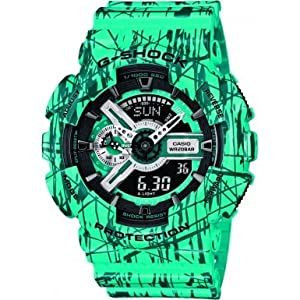 Reloj Casio G-shock Ga-110sl-3aer Hombre Verde de Casio