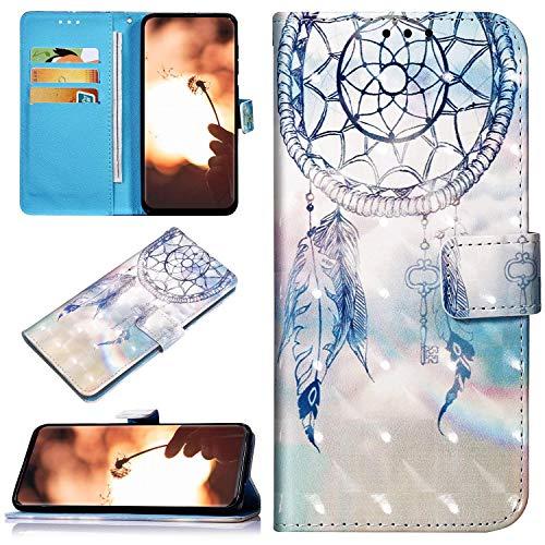 Robinsoni Custodia Compatibile con Huawei Honor 7A Case Portafoglio Cover Libro Case Pelle PU Antiurto Case Wallet Taccuino Cover Libretto Cartone Animato Case Folio Flip Cover Colorato Cover