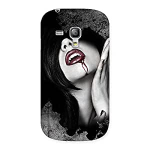 Special Wonder Lips Red Back Case Cover for Galaxy S3 Mini