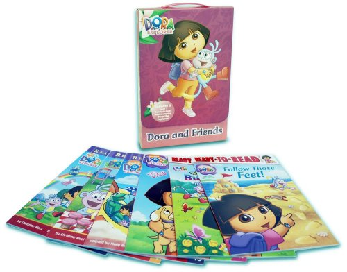 Dora and Friends: Dora's Picnic; Follow Those Feet! So Many Butterflies!; The Puppy Twins; Dora's First Trip; Dora and the Rainbow Kite Festival (Dora the Explorer: Ready-to-Read, Level 1)