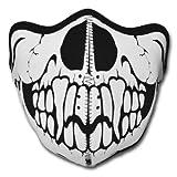 WINDMASK Neopren Biker Motorrad Maske Sturmmaske Skimaske - Skull Face Totenkopf #102