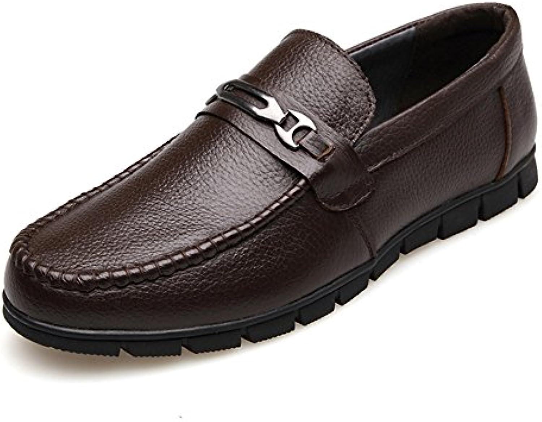 Zapatos Casuales Zapatos de Hombre Cuero Invierno Primavera Verano Otoño Confort Botines de Moda Mocasines y Slip-Ons...