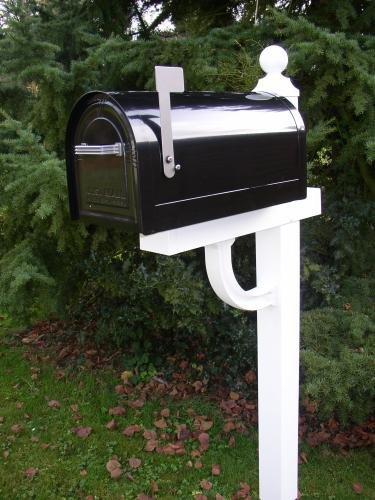 US-Mailbox Wyngate, abschließbar, Stahl, schwarz – US Mailbox - 2