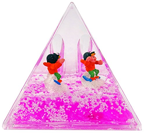 KDO-JOUETS.COM Porte Stylos Pyramide Snowboard - Rose