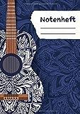 Notenheft: 12 Systeme pro Seite | 64 Seiten Notenpapier: Inklusive Inhaltsverzeichnis | 12 Systeme zur Komposition für alle Instrumente | DIN A4