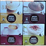 Nescafe Dolce Gusto® 4 Flavour Variety Pack (64 Capsules) Boxed
