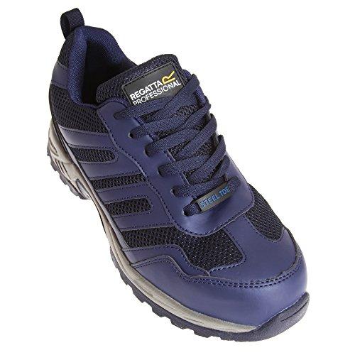 Regatta Hardwear - Baskets de sécurité pieds larges légères - Homme bleu