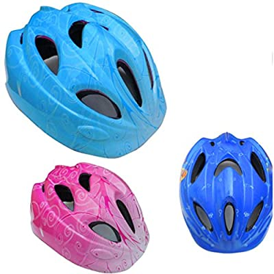 FeiliandaJJ 12 Wind Vent Kids' Bicycles Safety Helmet Head Protection for Boys and Girls Sports Mountain Road Bike Skating and Other Extreme Sports by FeiliandaJJ