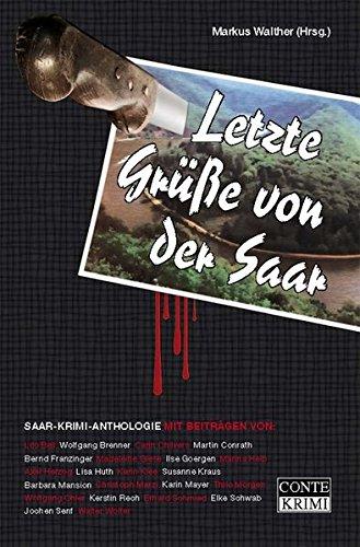 Image of Letzte Grüße von der Saar: Saar-Krimi-Anthologie (Conte Krimi)