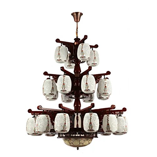 red-blown-wooden-chandelier-lighting-ceiling-lamp-pendant-lamp-of-underglaze-pastel-and-white-glazed