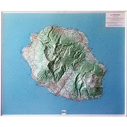 Relief La Réunion 1/100.000