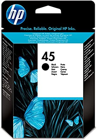HP 45 Cartouche d'encre Noir - 490 pages